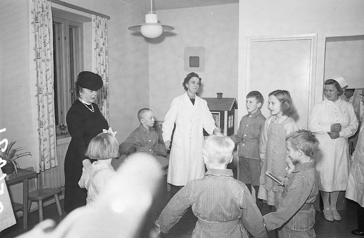 Alli Paasikivi, 1946. Kuvaaja: Matti Pietinen
